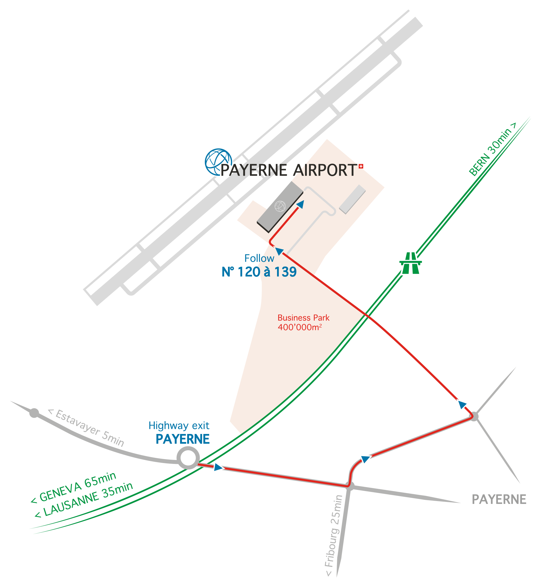 Payerne-Airport-access-map